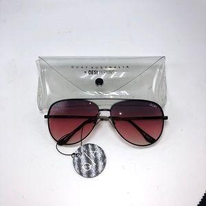 Quay Desi Sahara Sunglasses